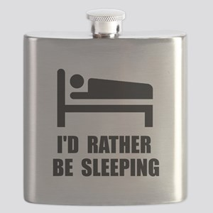 Rather Be Sleeping Flask