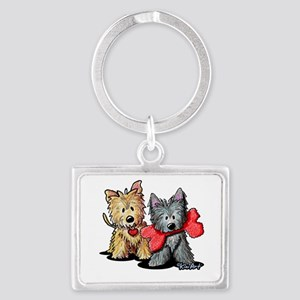 Cairn Duo Landscape Keychain