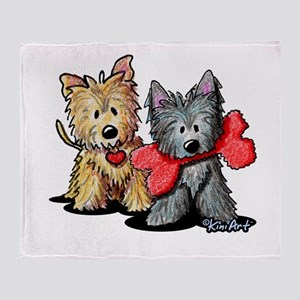 Cairn Duo Throw Blanket