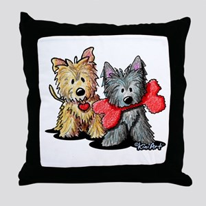 Cairn Duo Throw Pillow