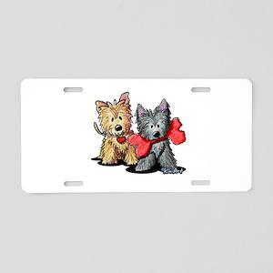 Cairn Duo Aluminum License Plate