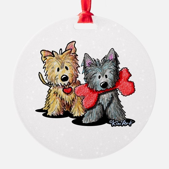 Cairn Duo Ornament