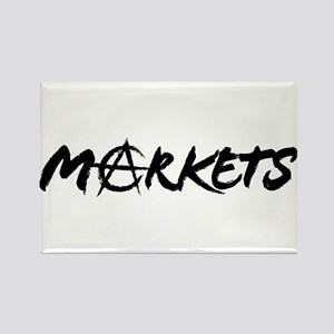 Markets Rectangle Magnet