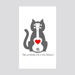 Cat Uke Sticker