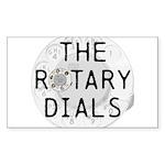 The Rotary Dials merchandise logo Sticker