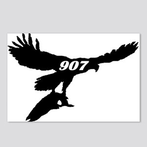 907 Fly Fishing Logo Postcards (Package of 8)