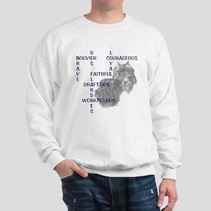 BOUVIER CROSSWORD Sweatshirt
