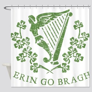 Erin Go Braugh Shower Curtain