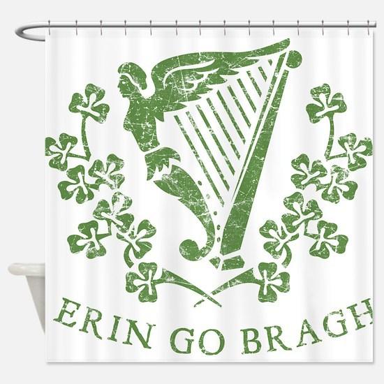 Erin Go Braugh Shower Curtain