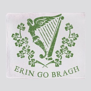 Erin Go Braugh Throw Blanket