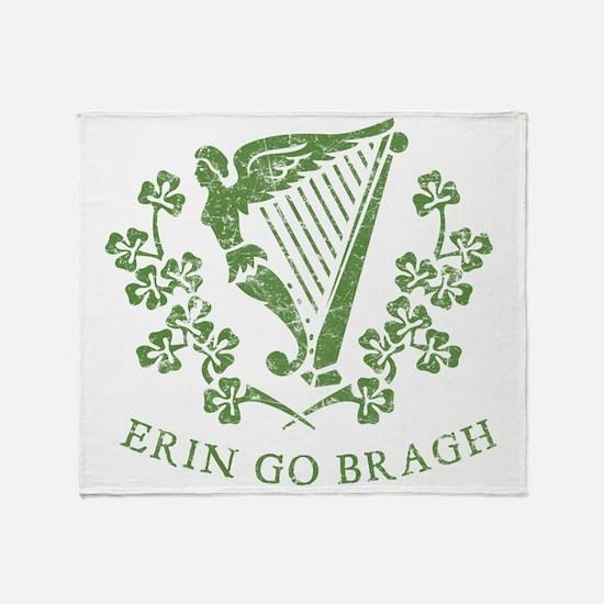 Erin Go Braugh Throw Blanket