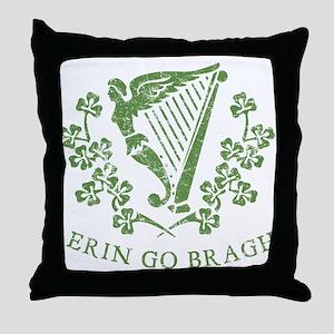 Erin Go Braugh Throw Pillow
