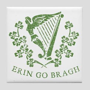 Erin Go Braugh Tile Coaster