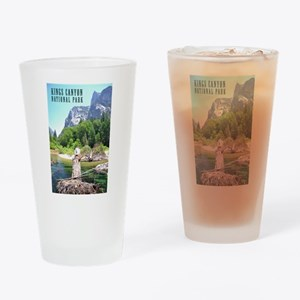 Kings Canyon National Park Tall Drinking Glass