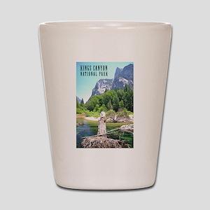 Kings Canyon National Park Tall Shot Glass