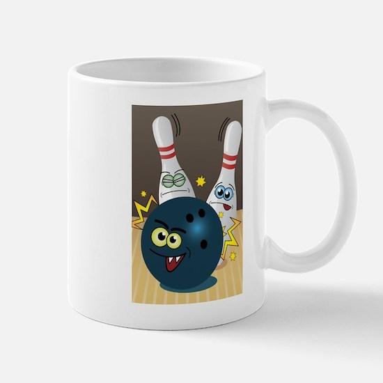 Hilarious Bowling Ball and Pins Mug