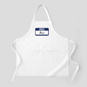 Hello: Ace BBQ Apron