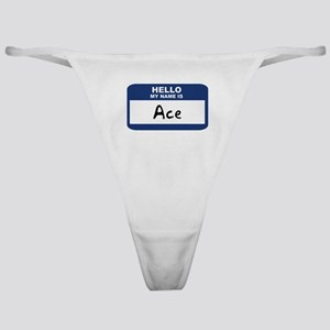 Hello: Ace Classic Thong