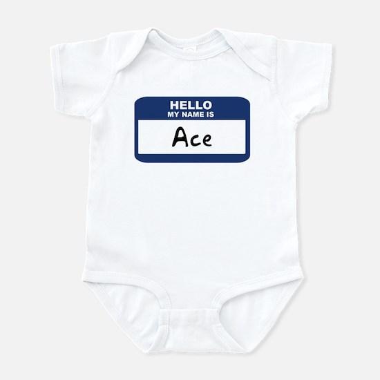 Hello: Ace Infant Bodysuit