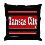 Kansas City Throw Pillow