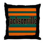 Jacksonville Throw Pillow