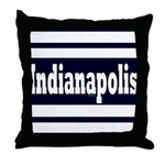 Indianapolis Throw Pillow