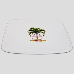 Tropical Christmas Bathmat