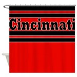 Cincinnati Shower Curtain