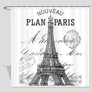 Nouveau Paris Shower Curtain