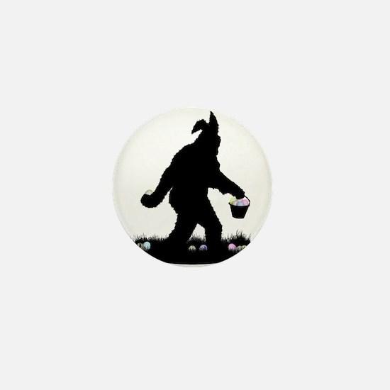 Easter Squatchin Mini Button