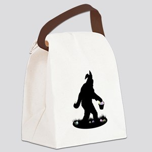 Easter Squatchin Canvas Lunch Bag