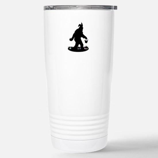 Easter Squatchin Travel Mug