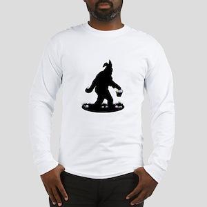 Easter Squatchin Long Sleeve T-Shirt
