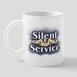 """Silent Service"" Submarine Mug"
