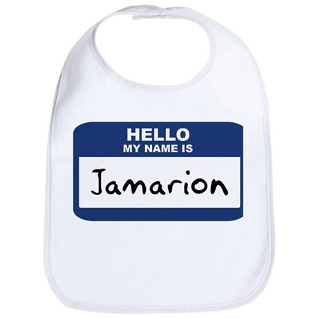 Hello: Jamarion Bib