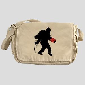 Valentine Sasquatch Messenger Bag