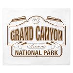 Grand Canyon National Park King Duvet