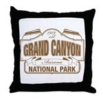 Grand Canyon National Park Throw Pillow