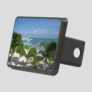 Beautiful Belize beach Hitch Cover