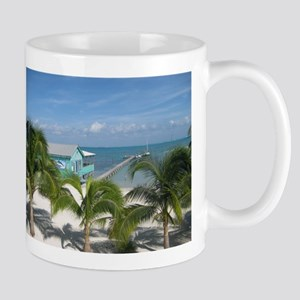 Beautiful Belize beach Mug