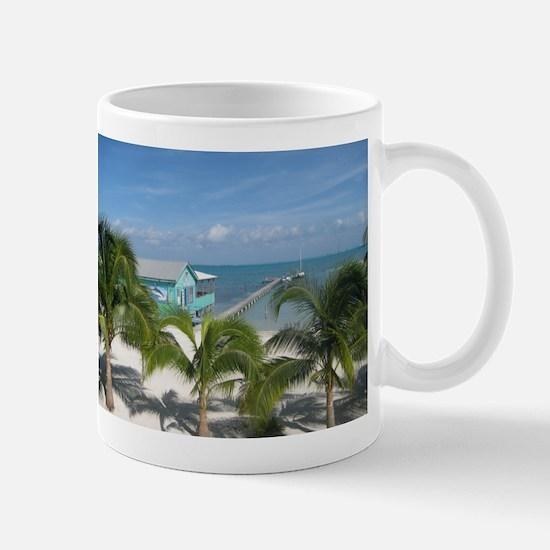 Beautiful Belize beach Mug