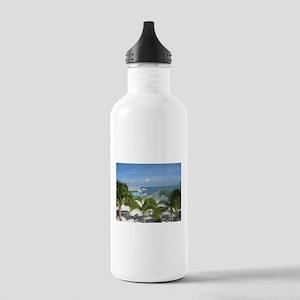 Beautiful Belize beach Water Bottle