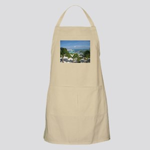 Beautiful Belize beach Apron