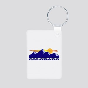 Colorado Rocky Mountains Keychains