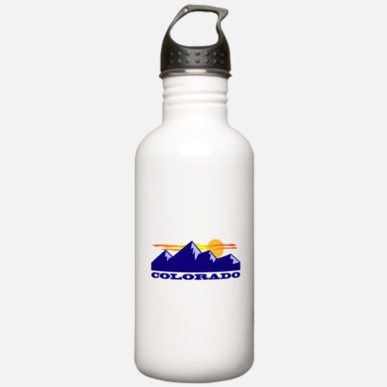 Colorado Rocky Mountains Water Bottle