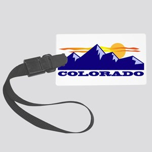 Colorado Rocky Mountains Luggage Tag