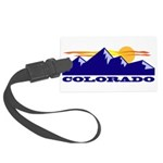 Colorado Rocky Mountains Luggage Tag