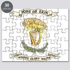 Sons of Erin Sun Rays Harp Puzzle