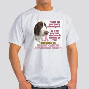Dogs for Mammos! Ash Grey T-Shirt