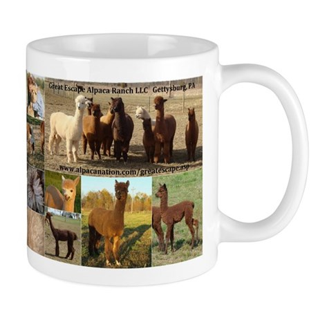 Alpaca Collage w-Text Apr09 Mugs